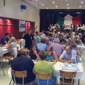 Succesvolle Italiaanse avond voor JongVLD