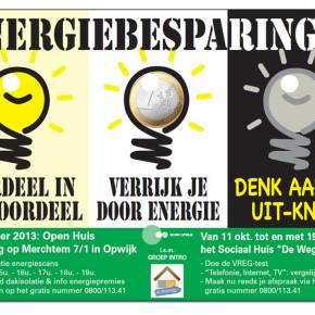 OCMW organiseert campagne over energiebesparingen