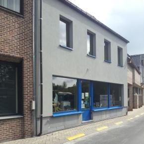 Verfraaiingswerken gebouw 'tKapstokske