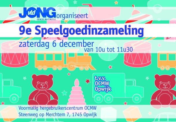 2014 - uitnodiging speelgoedinzameling opw lev