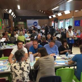 Lekker eten en veel volk op eetfestijn OpenVLD