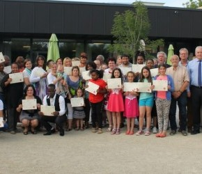 Cursisten Nederlandse lessen krijgendiploma