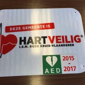 Opwijk is een 'Hartveilige Gemeente'