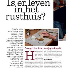 Het Nieuwsblad volgt een dag mee op het ritme van WZC DeOase
