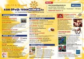 Kom Opwijk Tegen Kanker2017